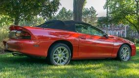 ` Camaro Corral ` przy Woodward sen rejsem, Zdjęcie Stock