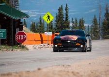 Camaro dans les montagnes. Images stock