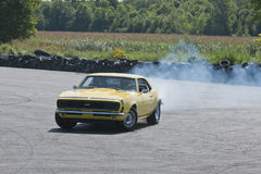 Camaro drift Royalty Free Stock Images