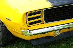 Camaro Front End Royalty Free Stock Photos