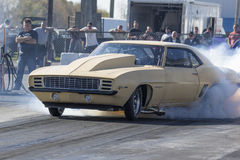 Camaro drag car Royalty Free Stock Image
