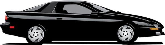 Camaro preto Fotos de Stock