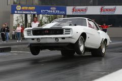 1969 Camaro RS/SS Wheels Up Launch royalty free stock photo