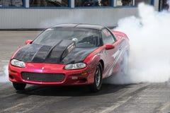 Camaro smoke show Stock Photography