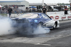 Camaro smoke show Royalty Free Stock Photography