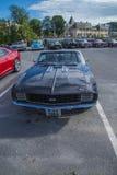 1969年camaro ss 396敞篷车 免版税图库摄影