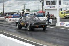 Camaro on the track royalty free stock photo