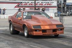 Camaro on the track Royalty Free Stock Photos