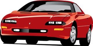 Camaro vermelho Fotografia de Stock