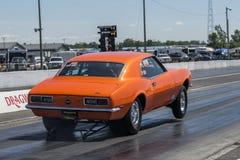 Camaro-Wheelie Stockfotografie