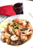 Camaron saltado Stock Photos