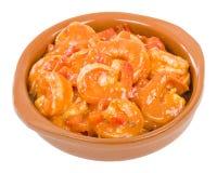 Camarones Enchilados Stock Photos