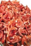 Camarones rojos Imágenes de archivo libres de regalías