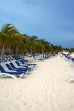 Camas da praia Fotos de Stock