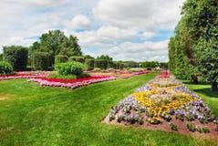 Camas de flor Imagens de Stock Royalty Free