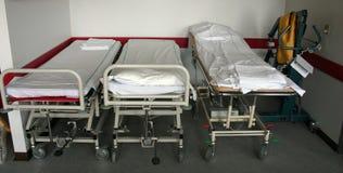 Camas de hospital Fotos de archivo