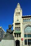 Cambó monument on Via Laítana. Barcelona, Spain. Royalty Free Stock Image