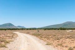 Cambdeboo parka narodowego, Nqweba tama Reinet, i Graaff Zdjęcia Royalty Free