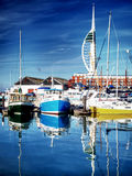 Camber docks fishing boats portsmouth Stock Images