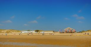 Camber Sands Beach royalty free stock image