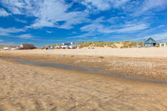 Camber Sands Beach England UK Royalty Free Stock Photography