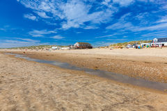 Camber Sands Beach England UK Royalty Free Stock Images