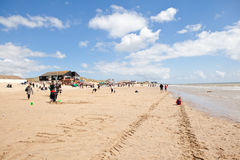 Camber sands, Camber: dunes and the beach Royalty Free Stock Images