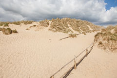 Camber sands, Camber: dunes and the beach Royalty Free Stock Photography
