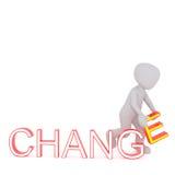 Cambi il concetto illustrazione di stock