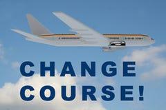 Cambi il corso! concetto illustrazione vettoriale