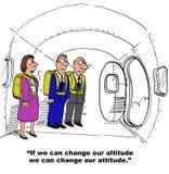 Cambi il nostro atteggiamento royalty illustrazione gratis