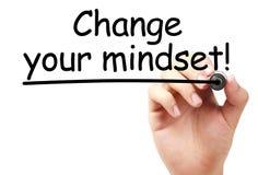 Cambi il vostro mindset Immagini Stock