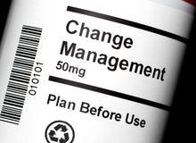 Cambi la gestione Fotografia Stock