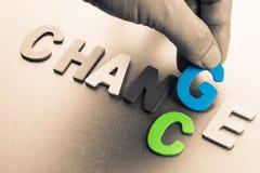 Cambi la probabilità Immagine Stock