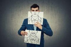 Cambi la vostra emozione Fotografie Stock Libere da Diritti