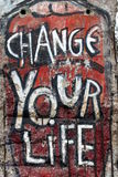 Cambi la vostra vita Immagine Stock Libera da Diritti