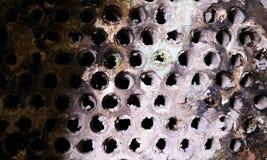 Cambiador de calor del gas de escape Foto de archivo