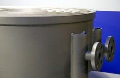 Cambiador de calor espiral Fotos de archivo libres de regalías