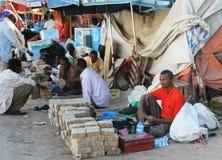 Cambiadores de dinero de la calle del dinero Fotos de archivo