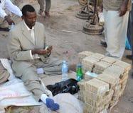 Cambiadores de dinheiro da rua do dinheiro Foto de Stock