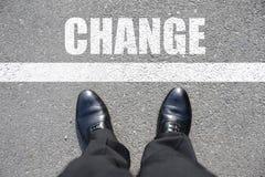 cambiamento fotografie stock