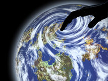 Cambiamento climatico Fotografie Stock Libere da Diritti