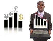 Cambiamento del mercato azionario Immagini Stock Libere da Diritti