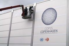 CAMBIAMENTO DELL'ONU CMILMATE DI COP15 COPENHAGHEN Immagine Stock