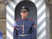 Cambiamento della guardia Prague Castle Fotografia Stock Libera da Diritti