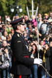 Cambiamento della protezione al Buckingham Palace Immagine Stock