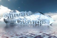 Cambiamento di clima Immagini Stock