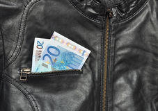 Cambiamento di EUR Fotografia Stock Libera da Diritti