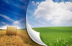 Cambiamento di stagioni Immagini Stock Libere da Diritti