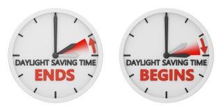 Cambiamento di tempo Immagine Stock Libera da Diritti